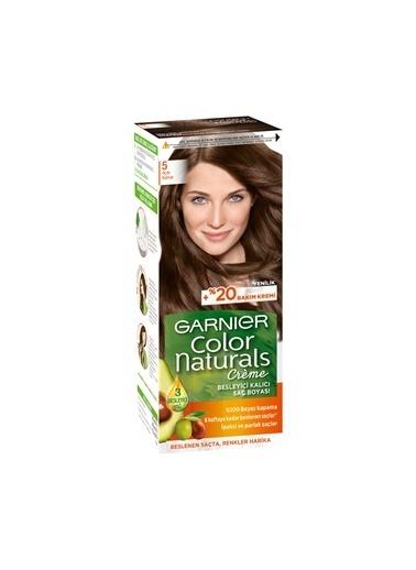 Garnier Garnier Color Naturals Saç Boyası 5 Açık Kahve Renkli